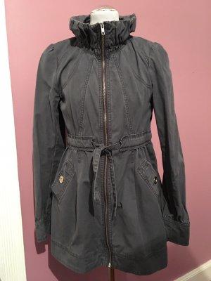 H&M Abrigo de entretiempo azul pálido-gris pizarra