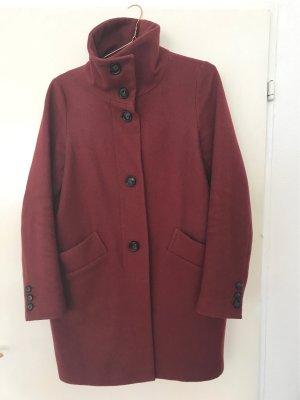 Sessun Abrigo de lana multicolor Lana