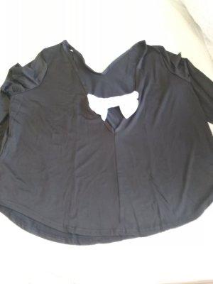 übergroße dehnbare Bluse