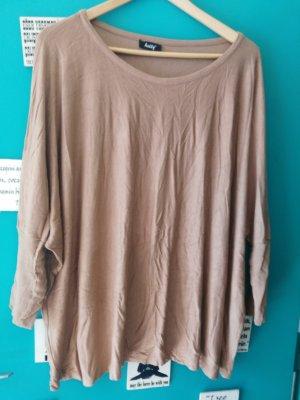 Helly Camisa holgada marrón claro