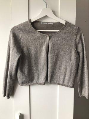 Only Giacca corta argento-grigio Cotone