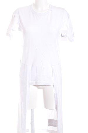UEG Longshirt weiß Urban-Look