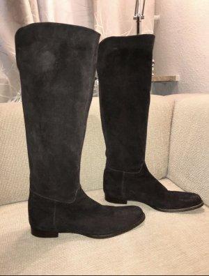 Unützer Botas sobre la rodilla marrón oscuro