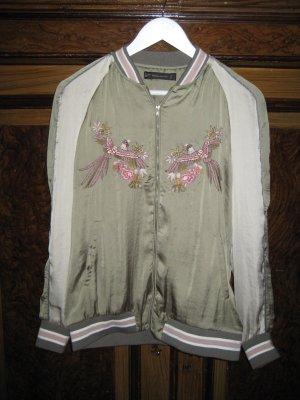 Zara Trafaluc College Jacket multicolored