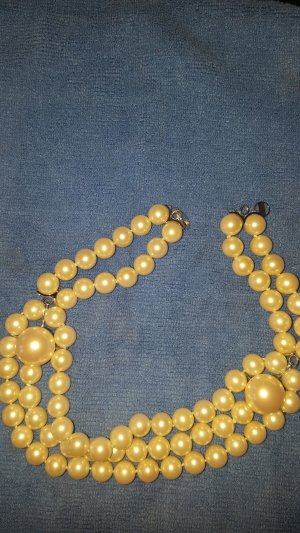 Misaki Pearl Necklace white-silver-colored