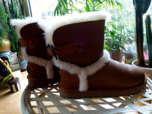 UGG Airehart Boots in Vintage Chestnut 37 UVP 219 € NEU