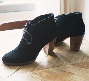 UGG Ankle Boots Booties Stiefeletten schwarz Wildleder Lammfell gefüttert 38