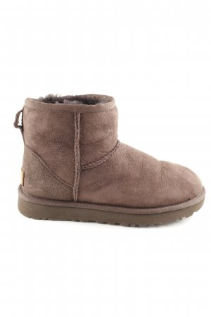UGG Ankle Boots braun Casual-Look