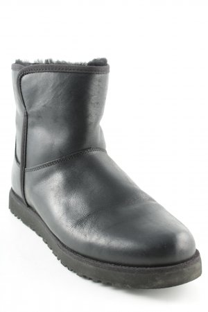 "UGG Enkellaarzen ""W Cory Leather Black"" zwart"