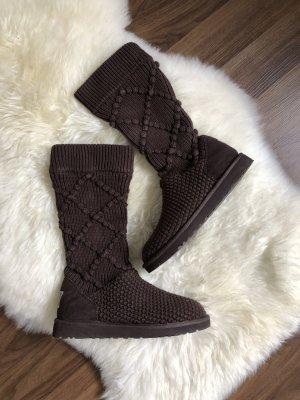 UGG Australia Winter Boots black brown-brown