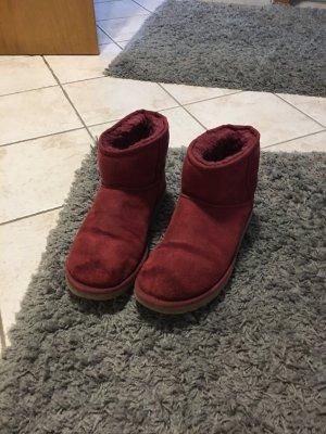 UGG Australia Boots raspberry-red-magenta