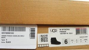 UGG Australia Chelsea laarzen zwart Suede