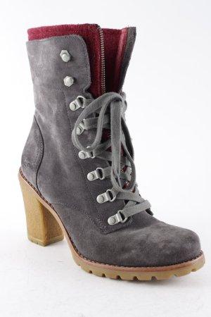 UGG Australia Absatz Stiefel grau Casual-Look