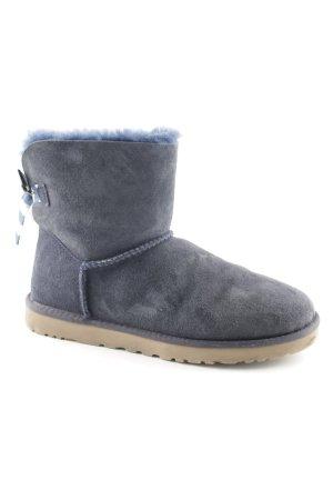 UGG Australia Ankle Boots steel blue-dark blue casual look