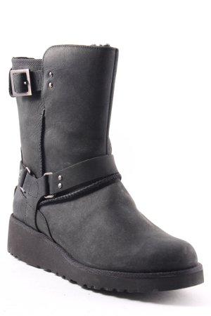UGG Australia Boots anthrazit-silberfarben Casual-Look