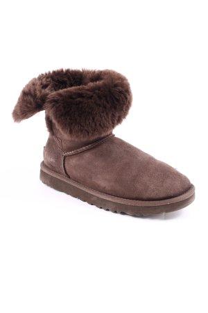 UGG Australia Boots braun Street-Fashion-Look