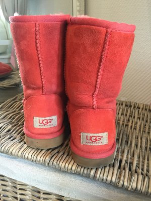 UGG Australia Boots in gr. 36 in Lachsrot