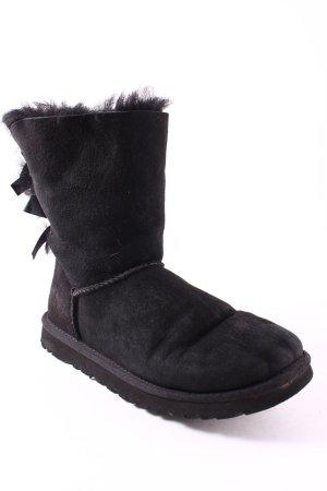 UGG Australia Boots schwarz Casual-Look