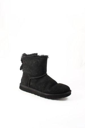 UGG Australia Boots schwarz Street-Fashion-Look