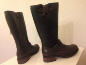 UGG Australia CHANCERY Echtlederstiefel Lammfell Boots Winterstiefel 37 Uggs NEU