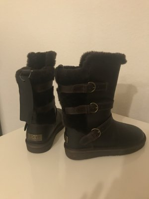 UGG Sneeuwlaarzen zwart bruin