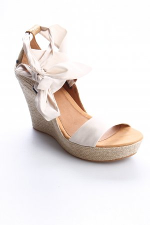 UGG Australia Keil-Pumps creme Beach-Look