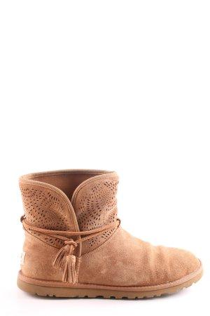 UGG Australia Short Boots brown-nude casual look
