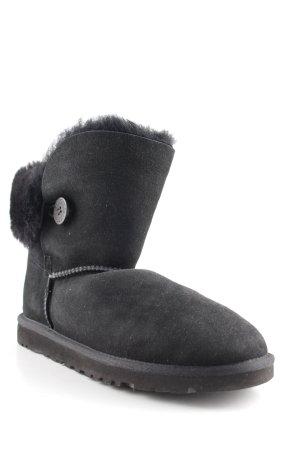 UGG Australia Korte laarzen zwart straat-mode uitstraling