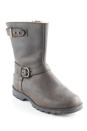 UGG Australia Korte laarzen zwart bruin-room casual uitstraling