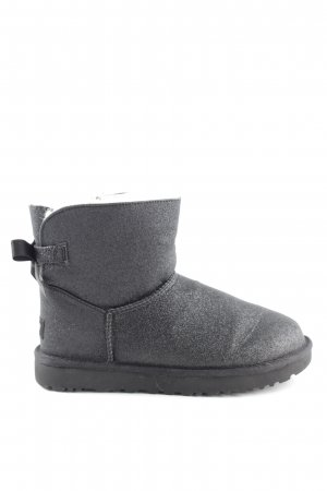 "UGG Australia Short Boots ""W Mini Bailey Bow Sparkle Black"" black"