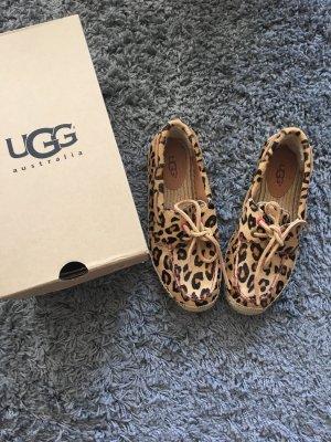 UGG Australia Mocassins marron clair-noir
