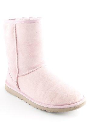 UGG Australia Schlüpf-Stiefeletten rosa Casual-Look