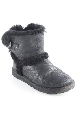 UGG Australia Schlüpf-Stiefeletten schwarz Casual-Look