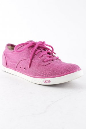 UGG Australia Lace-Up Sneaker violet casual look