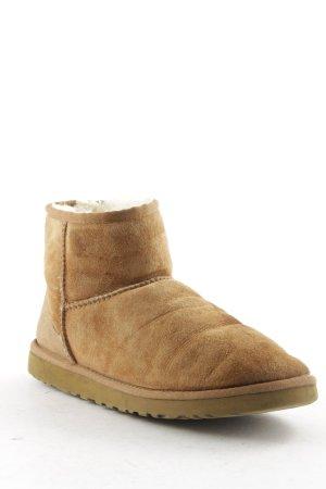 UGG Australia Snow Boots camel-cream fluffy
