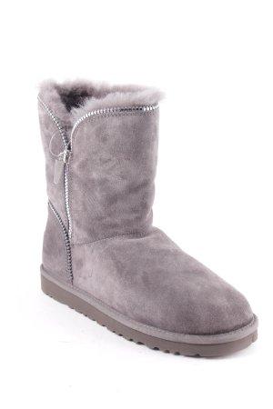 UGG Australia Snowboots grau Street-Fashion-Look