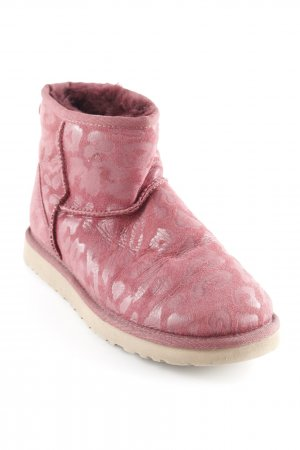 UGG Australia Snowboots karminrot Leomuster Casual-Look