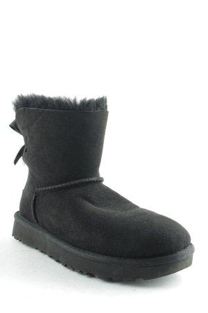 """UGG Australia Snowboots """"W Mini Bailey Bow II Black 36"""" schwarz"""