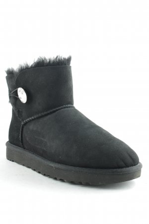 "UGG Australia Snowboots ""W Mini Bailey Button Bling Black 39 "" schwarz"