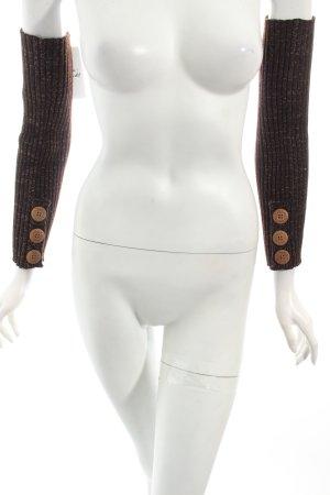 UGG Australia Stulpen dunkelbraun-goldfarben Street-Fashion-Look
