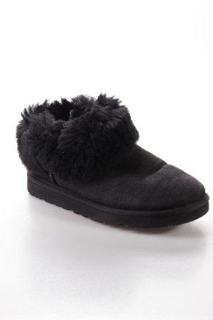 UGG Australia W Mini Bailey Button Bling Boots schwarz