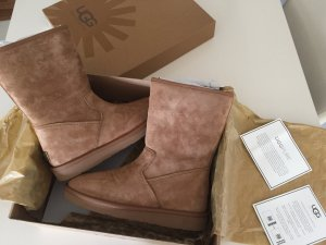 UGG Australia Boots beige-light brown leather