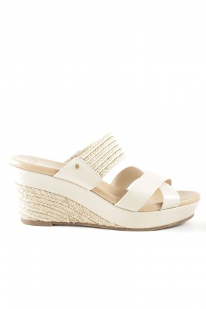 UGG Australia Wedges Sandaletten wollweiß-creme Casual-Look
