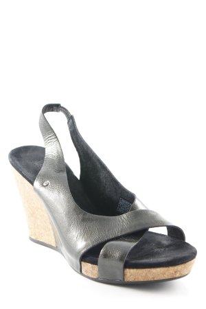 UGG Australia Wedges Sandaletten graubraun Casual-Look