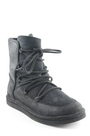 UGG Australia Winter-Stiefeletten schwarz Casual-Look
