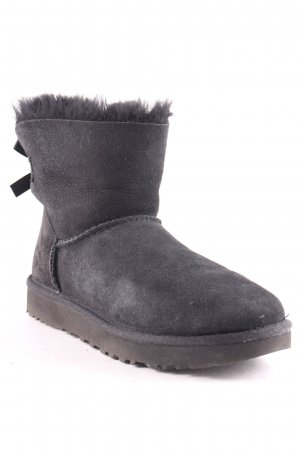 "UGG Australia Winter-Stiefeletten ""W Mini Bailey Bow II Black 37"" schwarz"