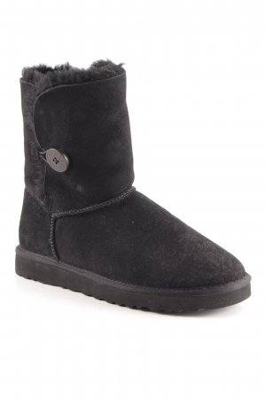 "UGG Australia Winterstiefel ""Bailey button"" schwarz"