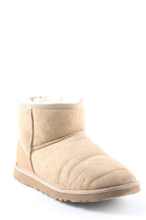UGG Australia Winterstiefel beige Casual-Look