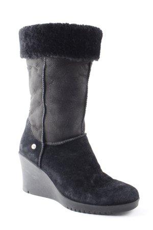UGG Australia Winterstiefel schwarz Casual-Look