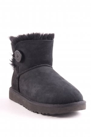 "UGG Australia Winterstiefel ""W Mini Bailey Button II Black 37"" schwarz"